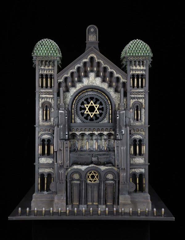 Farrow_Synagogue V (after the Great Synagogue of Brussels) 2